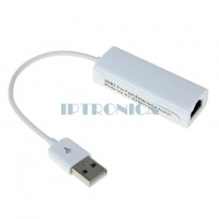 High Speed USB 2.0 to RJ45 LAN Ethernet Network Adapter for MINI PC TV Box Mac Tablet